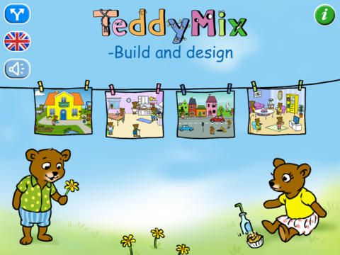 Build and design - fantastic open-ended creativity app for early learners or anyone who loves bears!