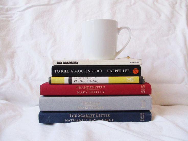 5 High School books I want to re-read