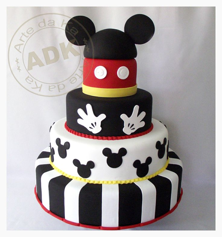 Cake Images Of Mickey Mouse : 17 Best images about Cakes and Treats on Pinterest Bed ...