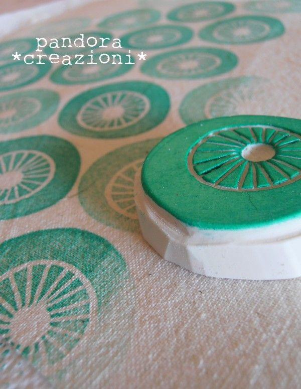block print fabric #stamp