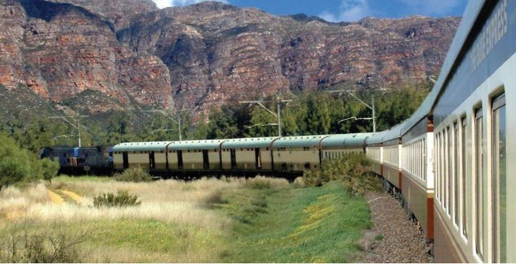 """The luxury South African train company Rovos Rail – which has long been running neck and neck with the Blue Train in pampered rail travel – has bought the """"three star"""" Shongololo Express, a 19-coach train that has been running aselect number of two-week tours across the country. For a fraction of the cost of"""