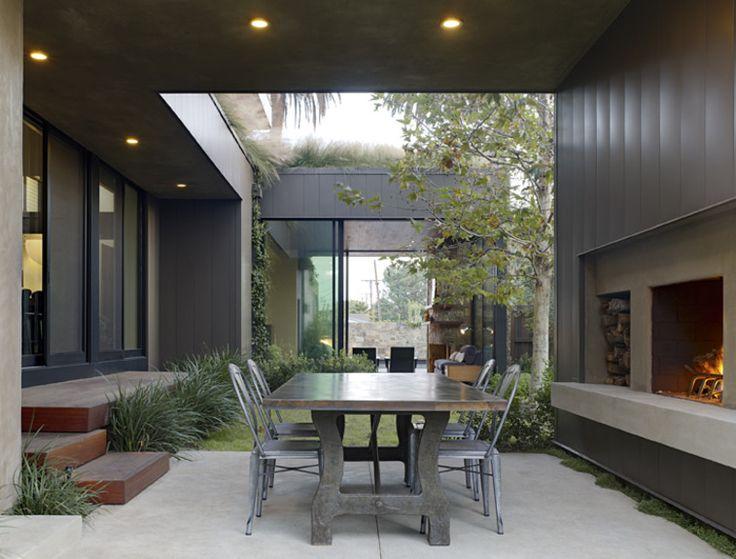 Contemporary Outdoor Patio by Jamie Bush & Co.