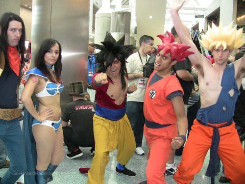 Android 17 Chi Chi Super Saiyan 4 Goku Super Saiyan God Goku Super Saiyan Goku!