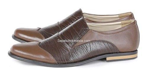 Sepatu Pria Gco 17 27 Kulit Coklat Hitam 38 43 Rp Sepatu