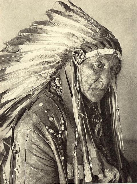 Amerika_90 - Oklahoma. Big Chief White Horse Eagle of the Osagi Tribe, via Flickr.