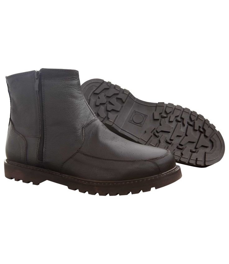 Boots Zippées Cuir et Sherpa #travel #voyage #atlasformen #formen #discount #shopping #ootd #outfit #winter #valley #wintervalley #formen #hommes #man #homme #men