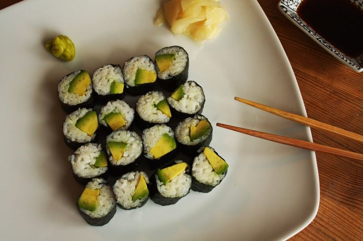 Avocado Maki (Sushi selber machen)