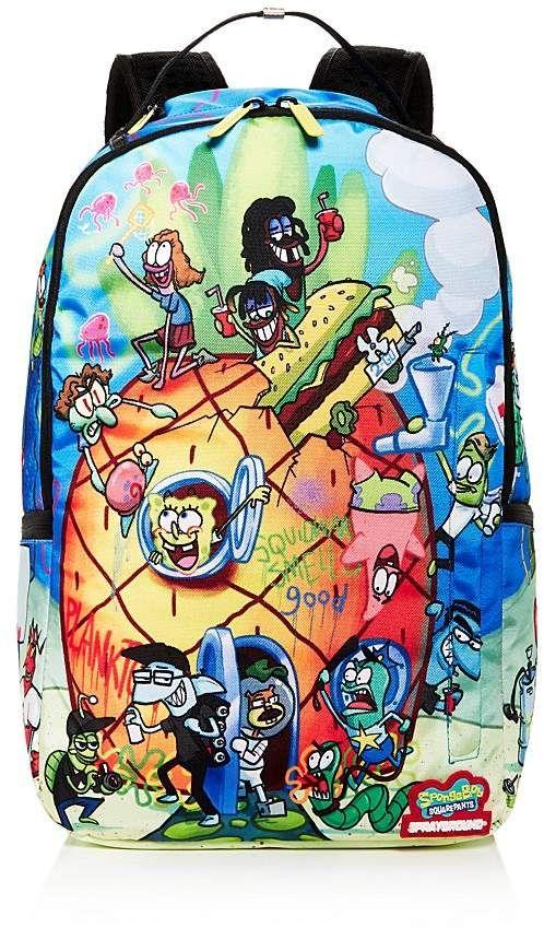 bc356d74363c SpongeBob Squarepants Sprayground Pineapple Party Backpack