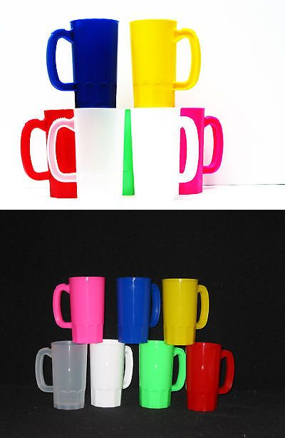 Eating and Drinking 115715: 100 Small 14 Oz Kid S Plastics Mugs Choice 7 Colors Mfg. Usa Dishwasher Safe -> BUY IT NOW ONLY: $134 on eBay!