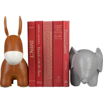 Bookends for the politico types in your life. $40 each.