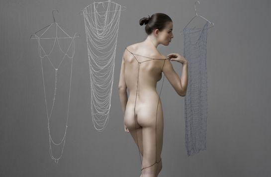 Digna Kosse's 'Minimal dress'. Photo: Lisa Klappe