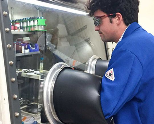 Paul Lauridsen is a year away from earning his bachelor's degree, but the chemistry major is already working on the front lines of USC efforts to turn greenhouse gas into methanol fuel.
