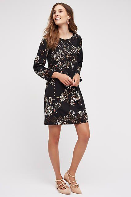 Midnight Blossom Dress - anthropologie.com
