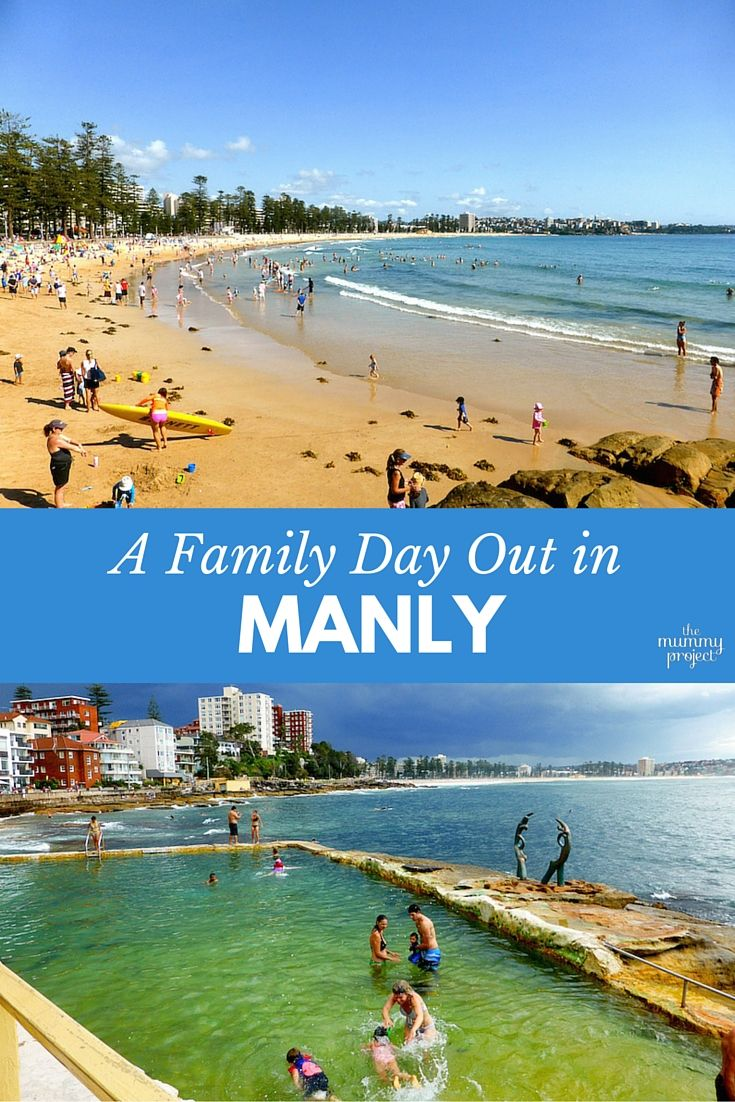 With the beach, harbour, Aquarium and beachside playgrounds, Manly is the ideal location for a family day out in Sydney.
