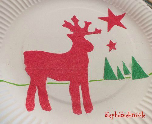 ides dactivits avec les enfants dessins avec du sel ou du sable color - Dessin Sable Color