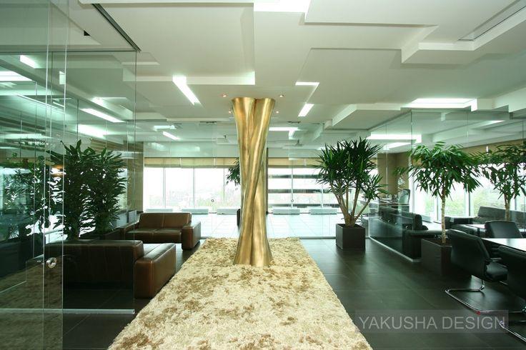 Viktoria Yakusha and Yakusha Design Studio, bank 600 sq.m, Dnipropetrovsk, completed