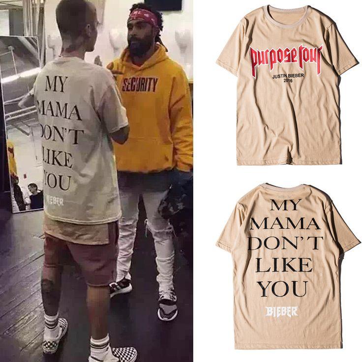 Justin Bieber Purpose Tour T-shirt Men