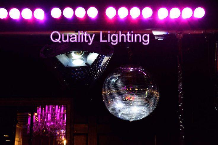 Quality Lighting - DJ Martin Lake
