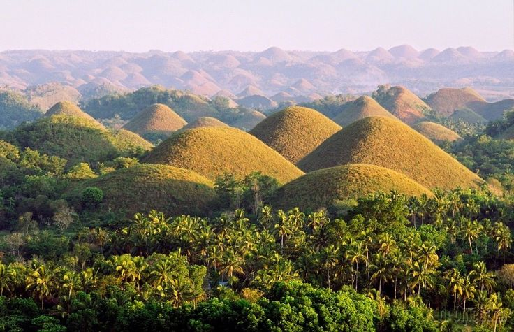 Chocolate Hills, Bohol, Filipíny