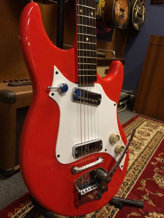 Restored 1960's Maton Flamingo - restored by Matt's Guitar ...