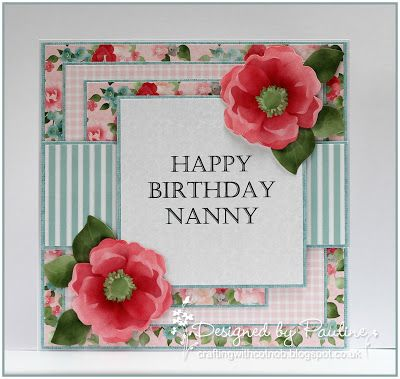 Crafting with Cotnob, Digital, Family Birthday, Fussy Cutting, Idyllic, NitWit Collections