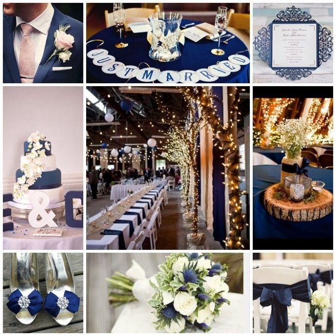 Mon Mariage Couleur Bleu Marine Bleu Roi Marine Decoration