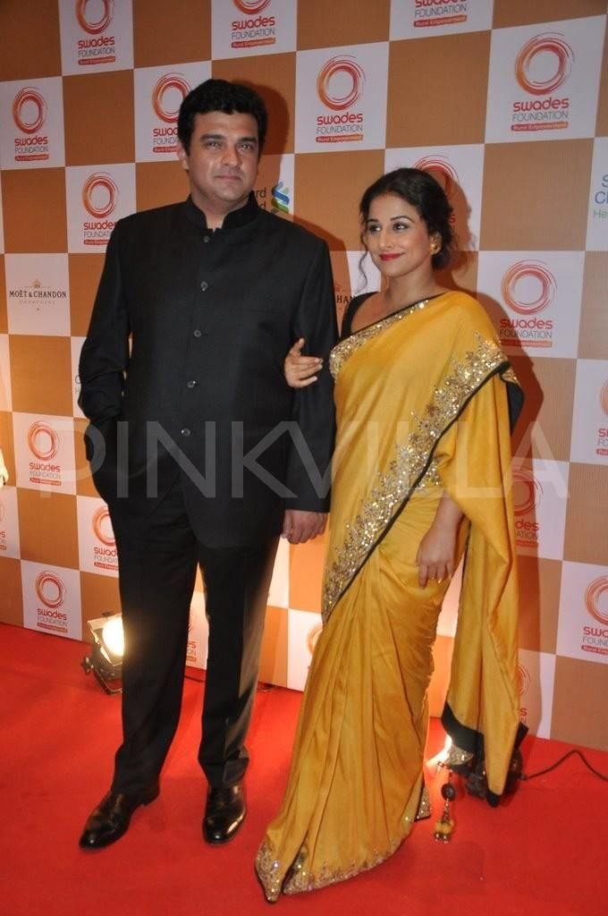 Vidya Balan and Sidharth Roy Kapur at the Swades Fundraiser 1
