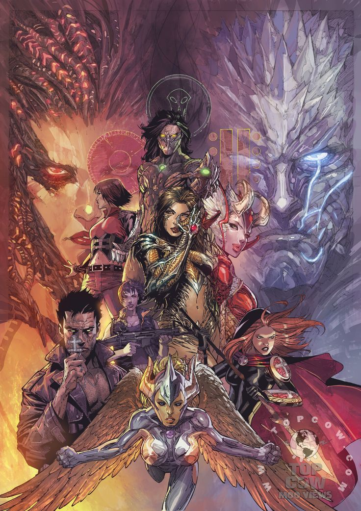 """""""The Darkness: Four Horsemen from Top Cow Productions"""" - Jeff Wamester"""