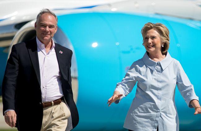 Hillary Clinton In L.A. Next Week For Seth MacFarlane & Barry Diller Fundraisers; UTA Brass Host Tim Kaine Shindig