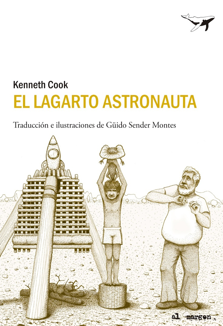 The Frill-necked Astronaut. Cover for Sajalín editores