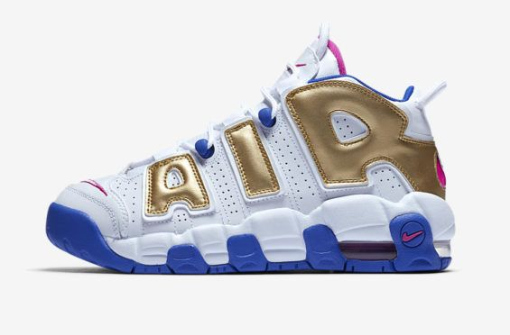timeless design 472f3 1f9e7 Sneakers Nike · Live · Footwear · Official Look At The Nike Air More  Uptempo GS Fuchsia Blast The Nike Air More Uptempo