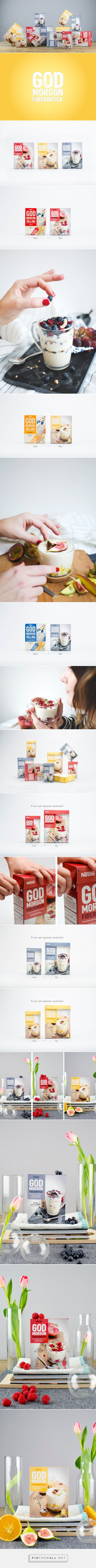 God Morgon Fiber Drink - Packaging of the World - Creative Package Design Gallery - http://www.packagingoftheworld.com/2016/07/god-morgon-fiber-drink.html