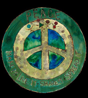 Painted Peace - Wood Art of Stephanie Joan Burgess - Peace Poles, Planks and Wall Art