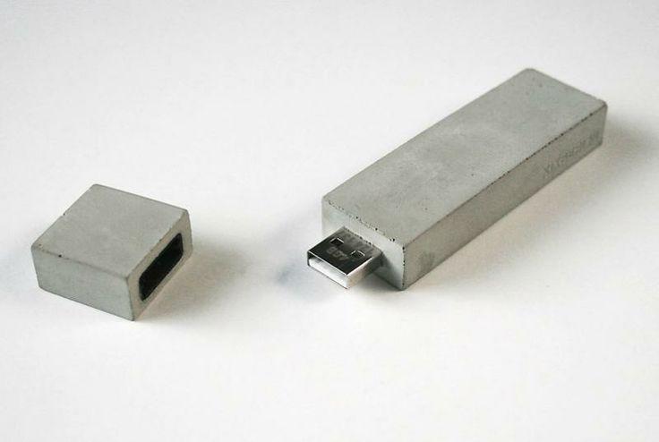 Concrete USB stick