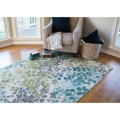 You'll love the Adams Aqua Area Rug at Wayfair - Great Deals on all Décor  products with Free Shipping on most stuff, even the big stuff.