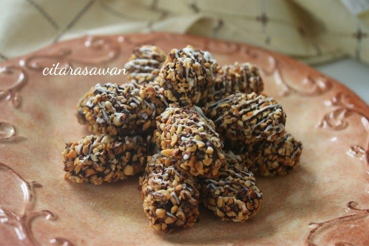 Biskut Coklat Kacang Shandong Resepi Terbaik Resep Makanan Resep Masakan Kue Kelapa