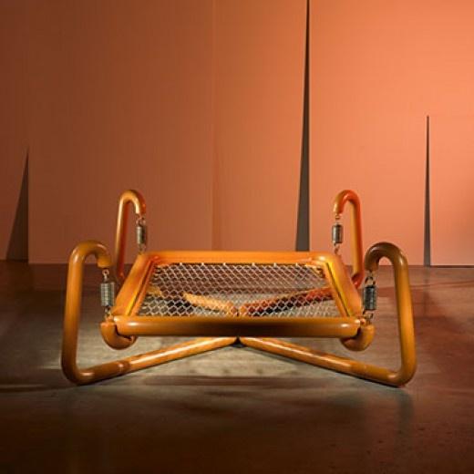 Marzio Cecchi, Spring Bed for Studio Most, 1973.
