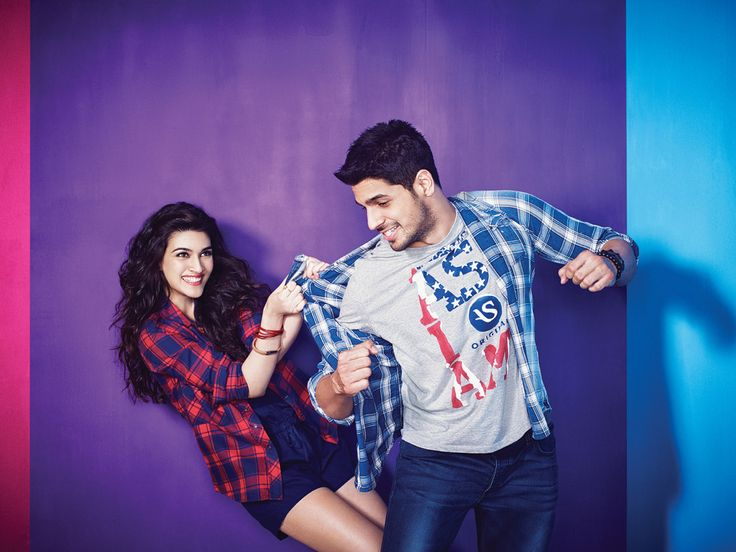 Sidharth Malhotra, Kriti Sanon PhotoShoot for American Swan Online Fashion brand