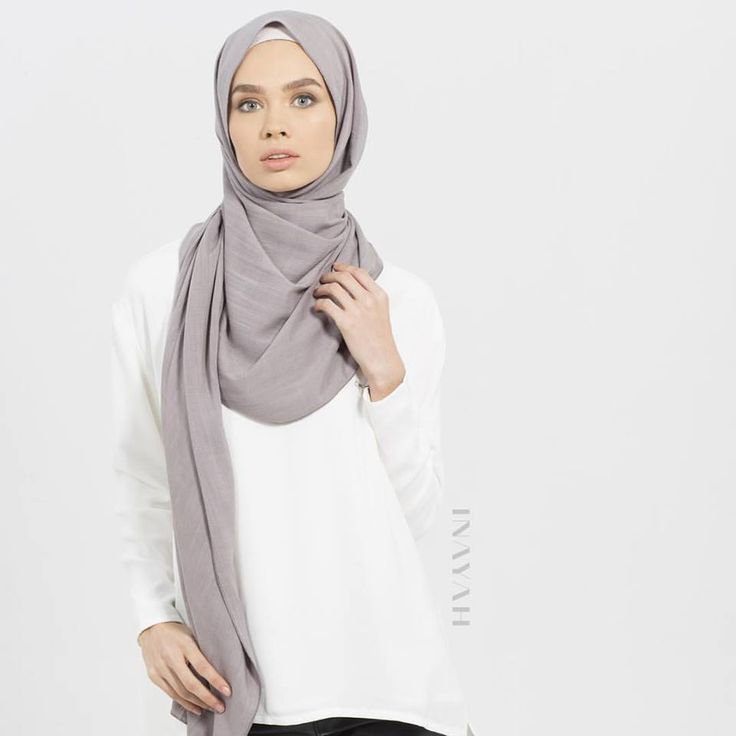 INAYAH | Taupe Textured #Hijab www.inayahcollection.com