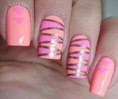 Easy and Cute Summer Nail Art Idea 2015