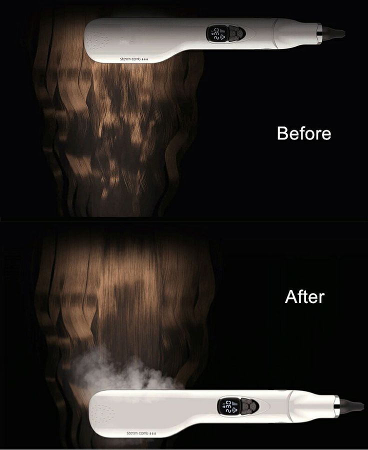 Amazing steam hair straightening comb ,hair straight in one step ,believe it or not ,you    can test it .