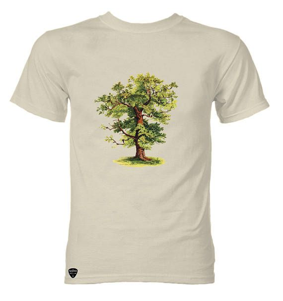 The Oak Tree vintage illuatration T-shirt. Check out this item in my Etsy shop https://www.etsy.com/listing/526022122/t-shirt-the-tree-vintage-illustration