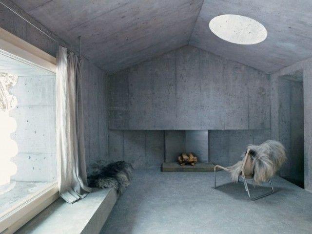 """""""The Refugi Lieptgas"""" in Switzerland (Flims) by Nickisch Sano Walder Architekten"""