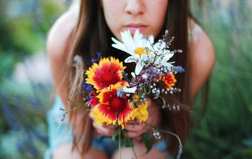flowers.: Hipster, Bridal Bouquets, Flowers Bouquets, Bohemian Dreams, Hippie Heart, Flowers Girls, Flowers Power, Boho Style, Hippie Life
