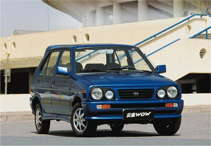 Yunque GHK 7061 WOW (based on Subaru Rex)