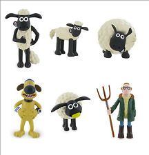 Official Bullyland Comansi Shaun The Sheep Figures Figurines Toy Cake Toppers