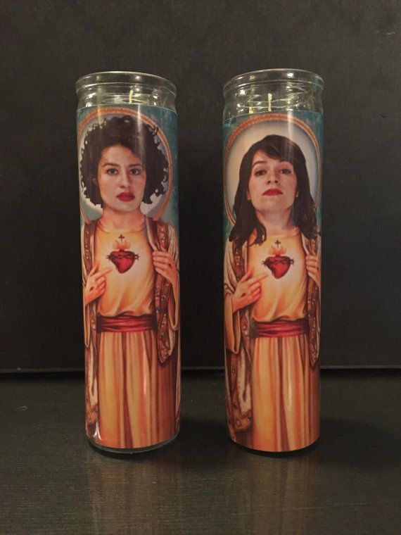 Four And Three and Two and What, What  Broad City Devotion Candles