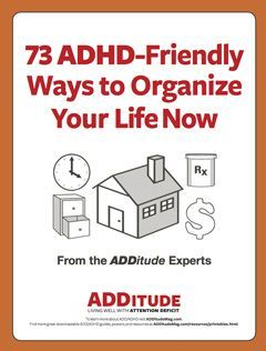 FREE DOWNLOAD: 73 ADHD-friendly ways to stay on task and on time with adult ADHD.