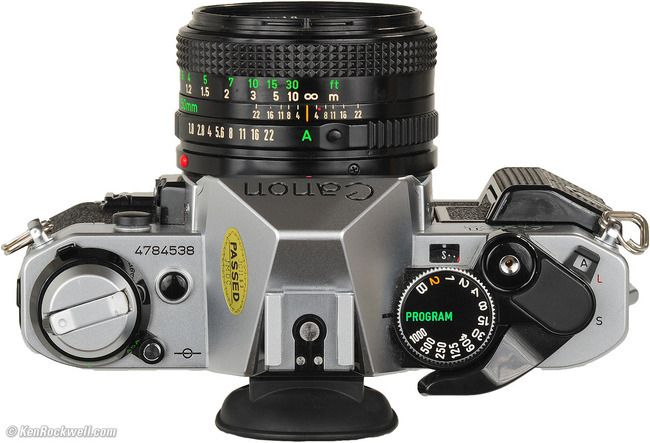 Porter Electronics - Canon AE-1 program 35mm film SLR Manual Focus Camera w/ FD 50mm lens, $139.99 (http://www.porterelectronics.com/canon-ae-1-program-35mm-film-slr-manual-focus-camera-w-fd-50mm-lens/)