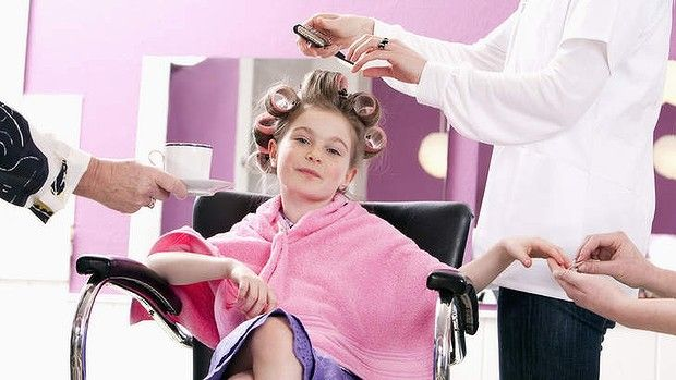 The trend of kiddie spa treatments has spread around the world. Is this ridiculous spoiling or harmless fun?  #travel #family #kids